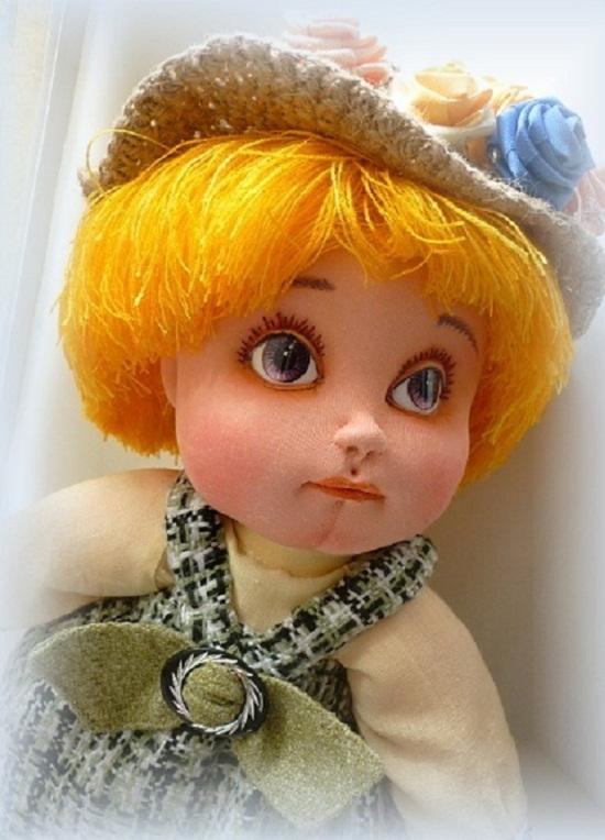 Куклы из капрона мастер класс от а до я
