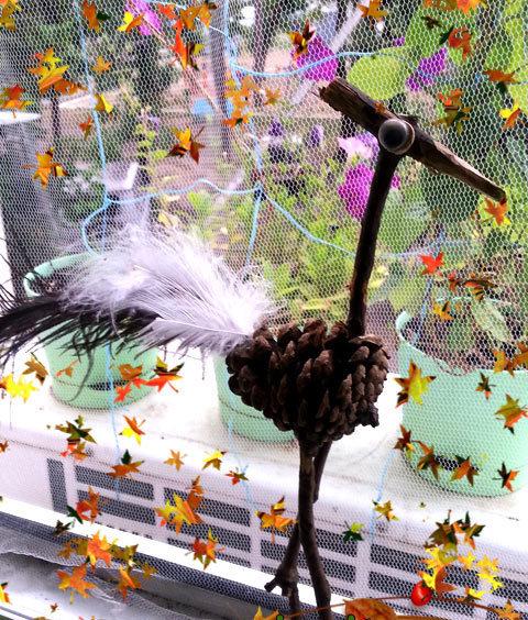 Птицы своими руками для школы