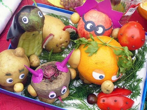 Поделки своими руками в школу из овощей